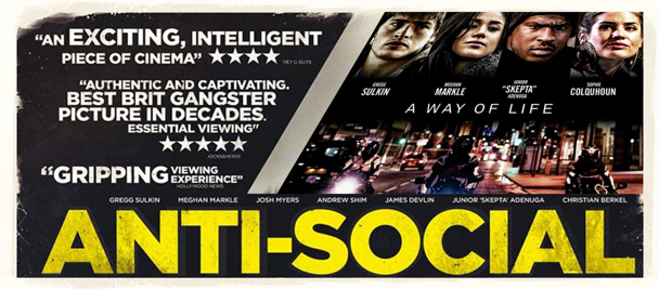 anti-social movie banner