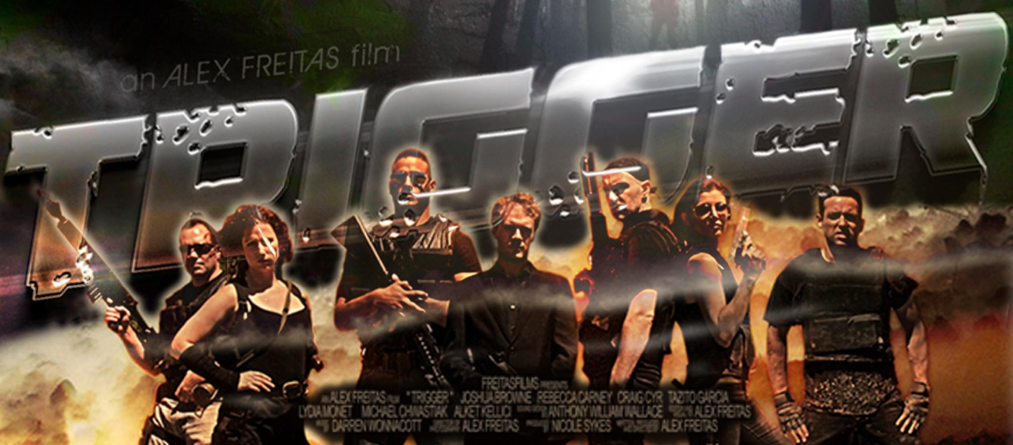 trigger movie banner